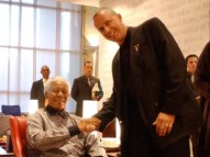 Meeting Nelson Mandela