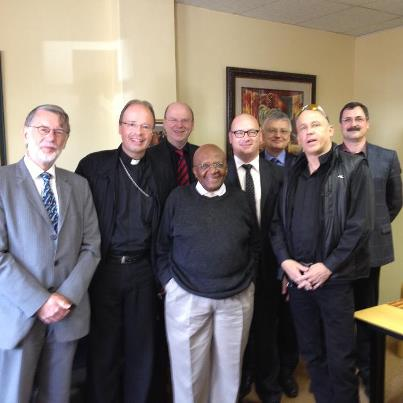 Meeting with Archbishop Desmond Tutu
