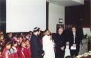 Interfaith praying at the opening 2001