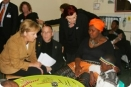 German Chancellor Angela Merkel visiting HOPE Cape Town