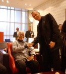 Nelson Mandela interested to learn about HOPE Cape Town