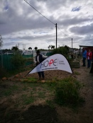 HOPE Cape Towns new veggi garden take shape in Blikkiesdorp...
